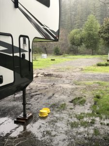 RV in mud