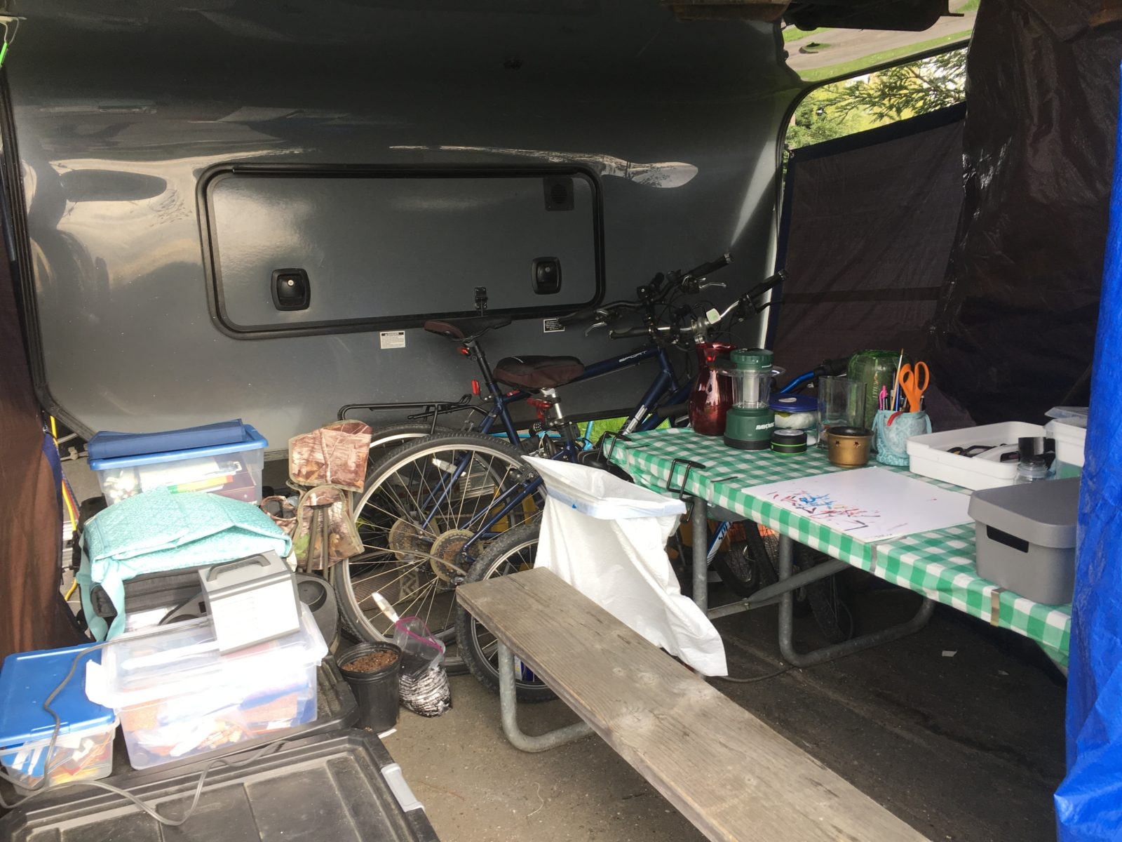 office under fifth wheel