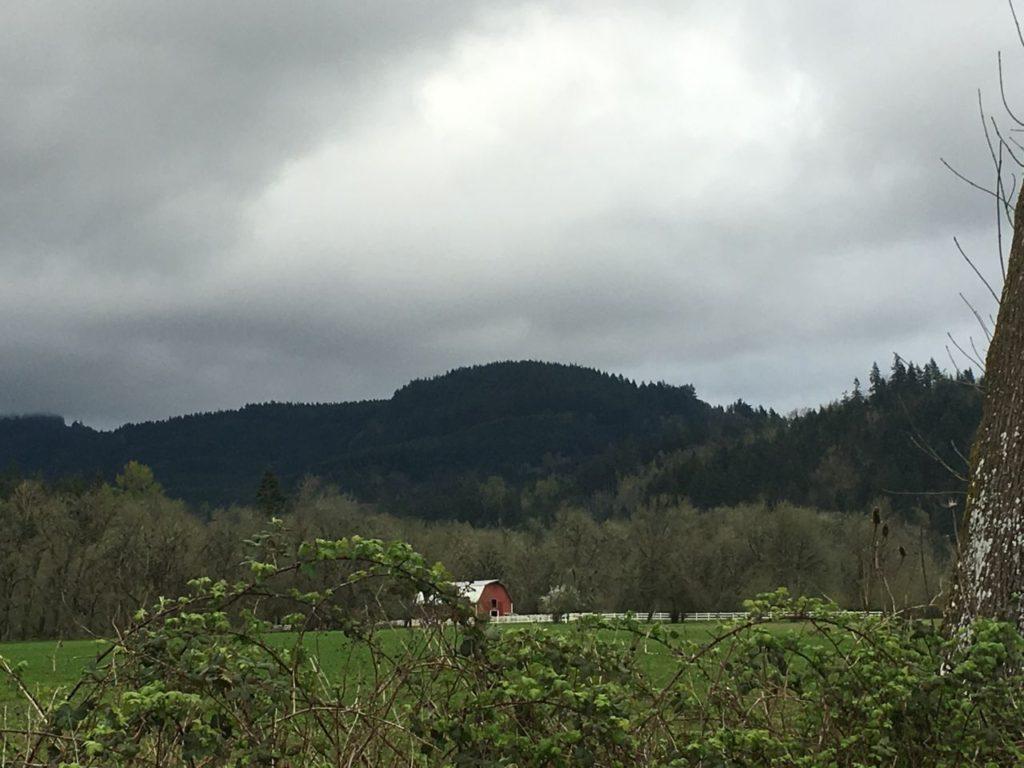 Outside Eugene Oregon