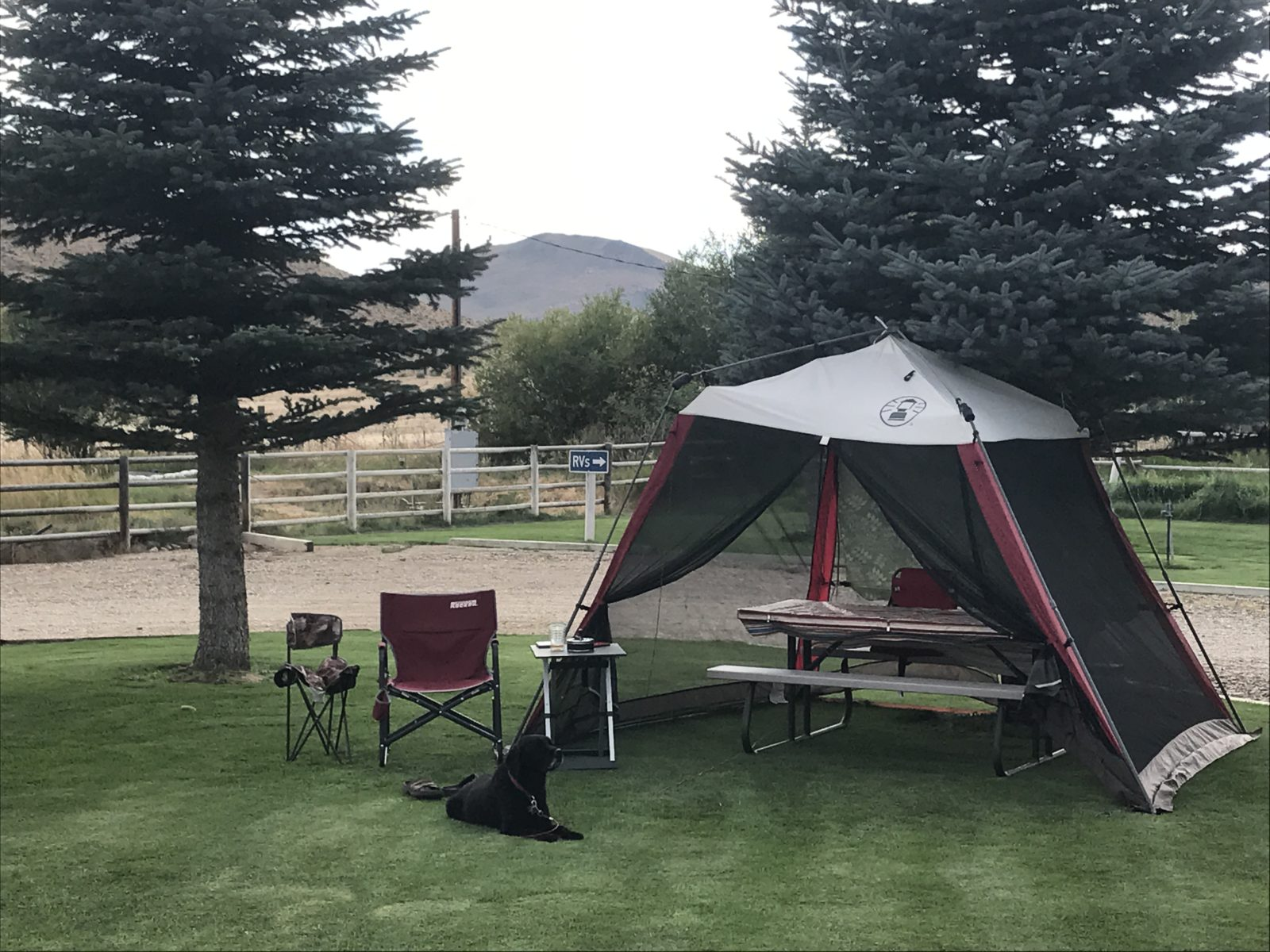 My Remote Office in Challis Idaho