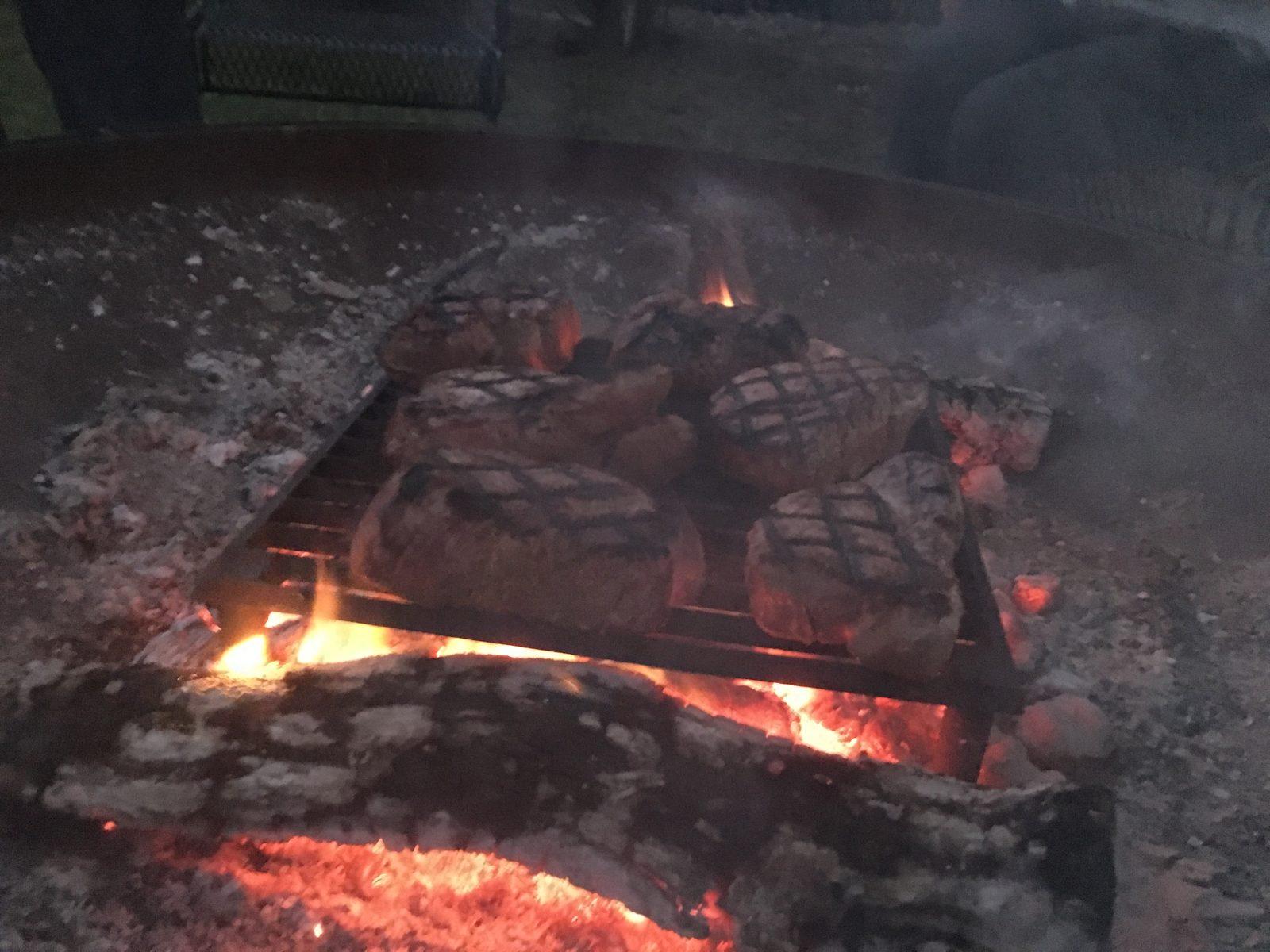 grilling steaks